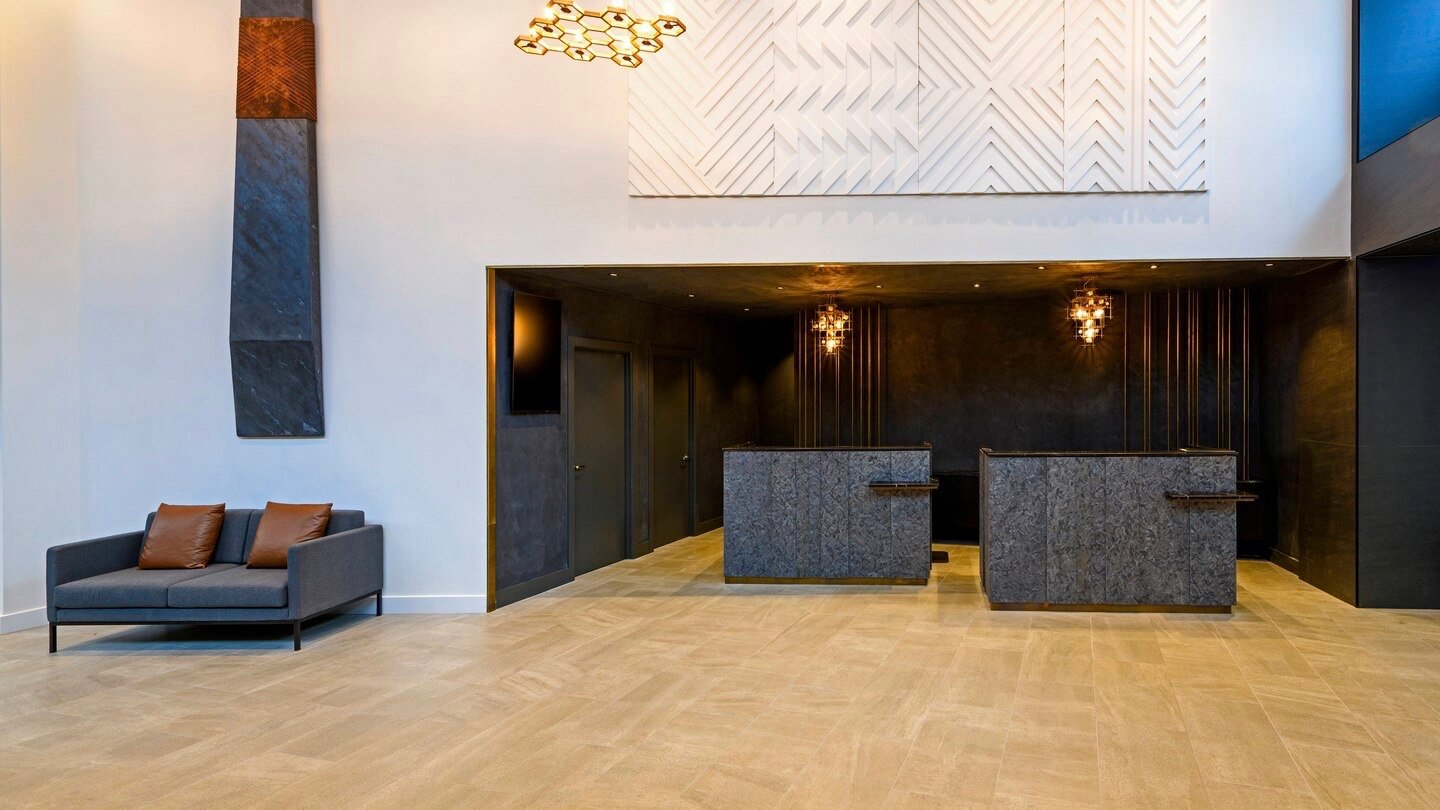 4 star Hotel reception at Four Points by Sheraton Hotel in Auckland CBD