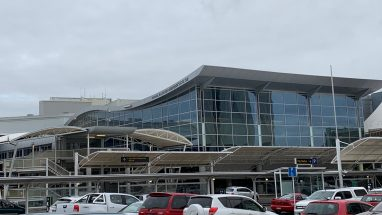 Auckland International Airport arrivals and departures