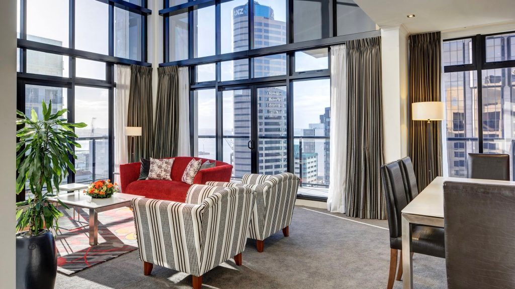City Life Hotel Auckland Penthouse Suite