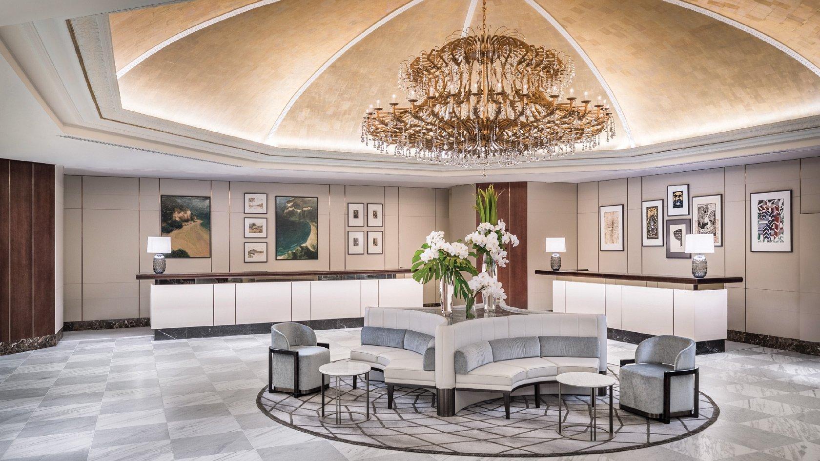 Cordis Auckland 5 star hotel lobby