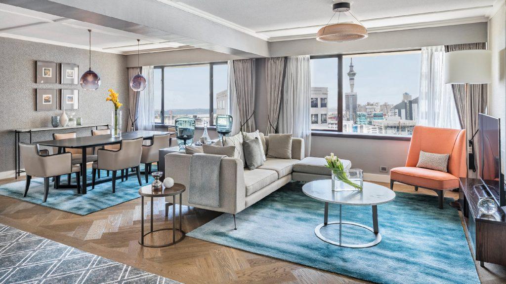 Cordis Hotel Auckland 5 star executive suite