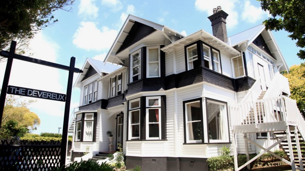 Devereux Boutique Hotel in Remuera Auckland