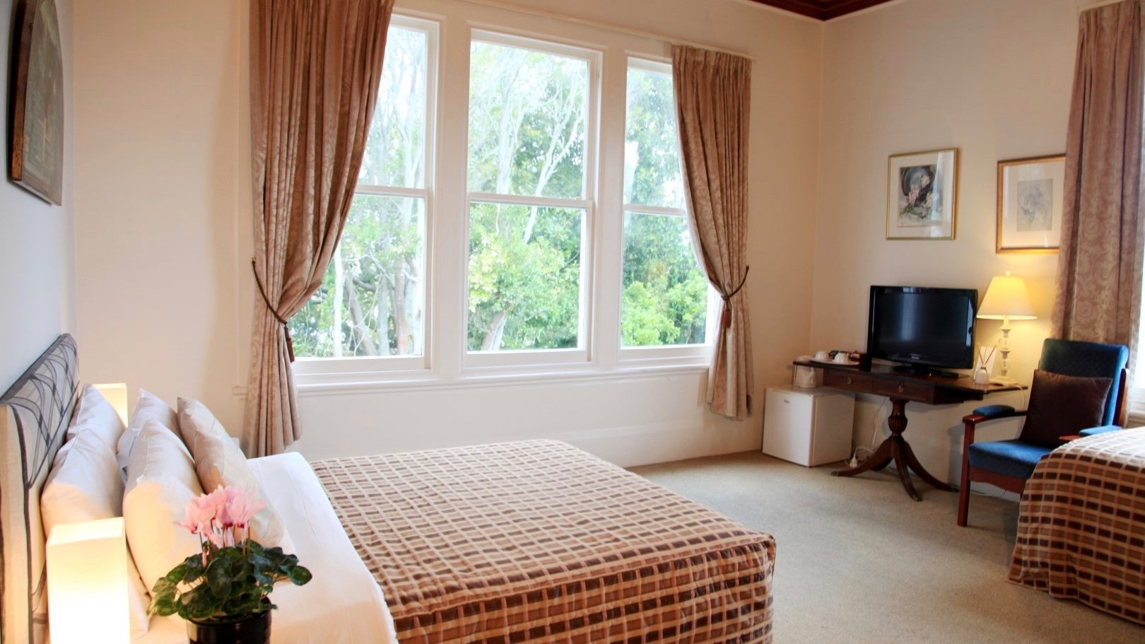 Devereux Boutique Hotel Zambezi room in Remuera Auckland