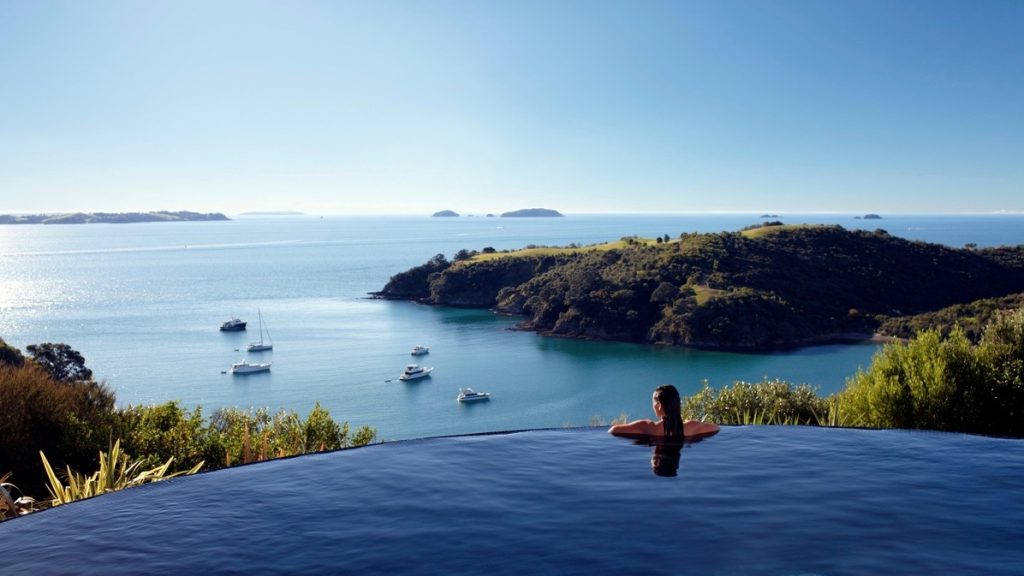Delamore Lodge, 5 star hotel, Waiheke Island, Auckland, New Zealand