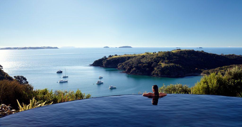 Delamore Lodge, 5 star hotel, Waiheke Island, Auckland, New Zealand