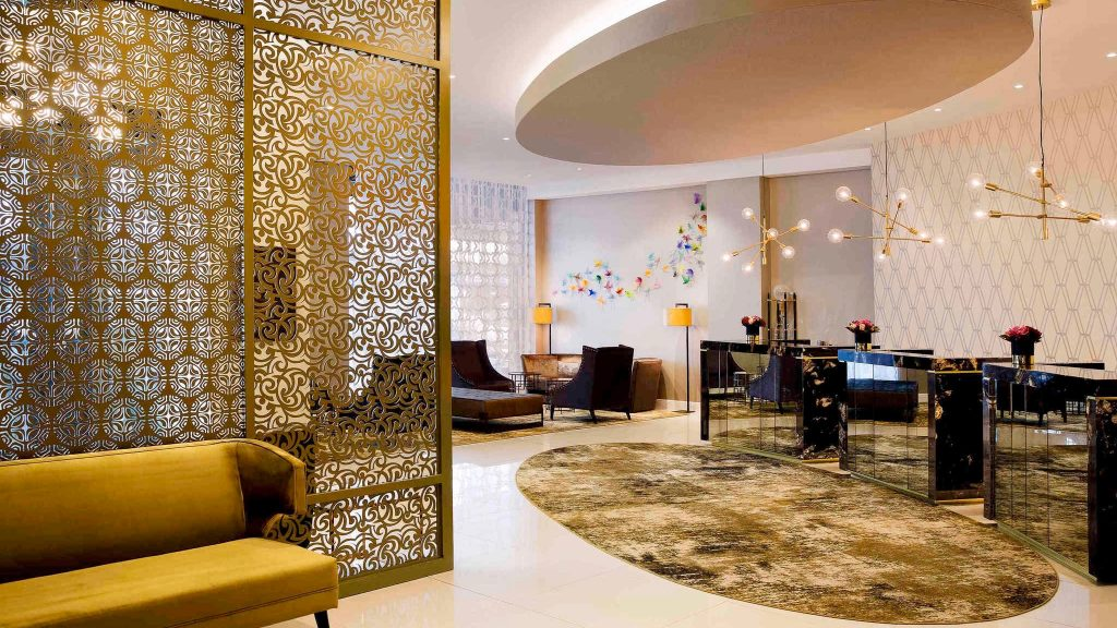 Decadent Lobby in Grand Mercure Auckland Hotel