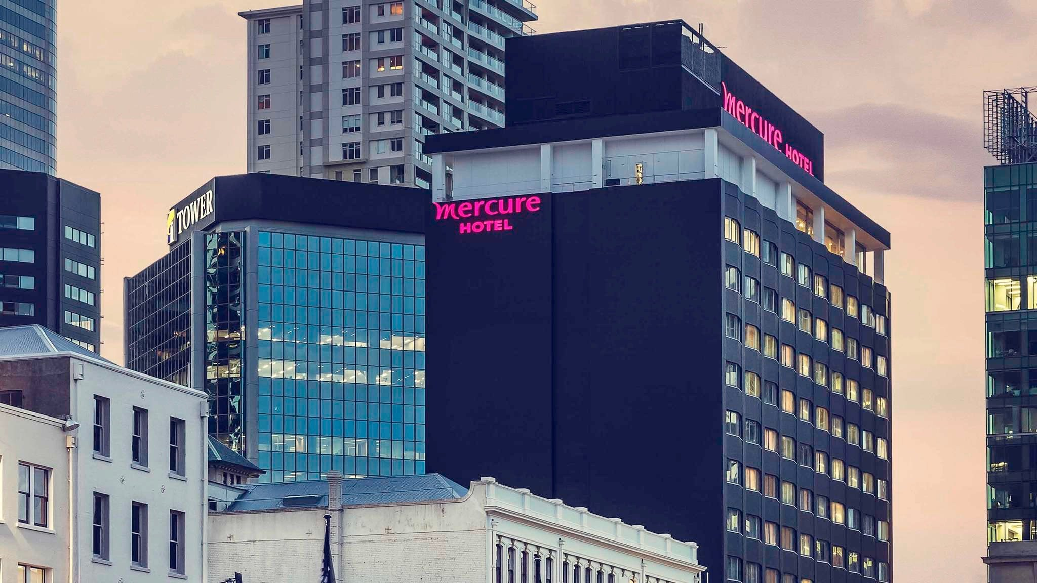 Newly Refurbished 5 star hotel Grand Mercure Auckland