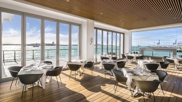 5 star Hilton Hotel Restaurant at Viaduct Harbour