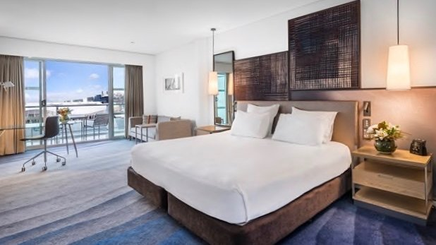 5 star Hilton Hotel Room with Harbour views