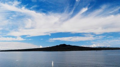 Rangitoto Island viewed from Devonport