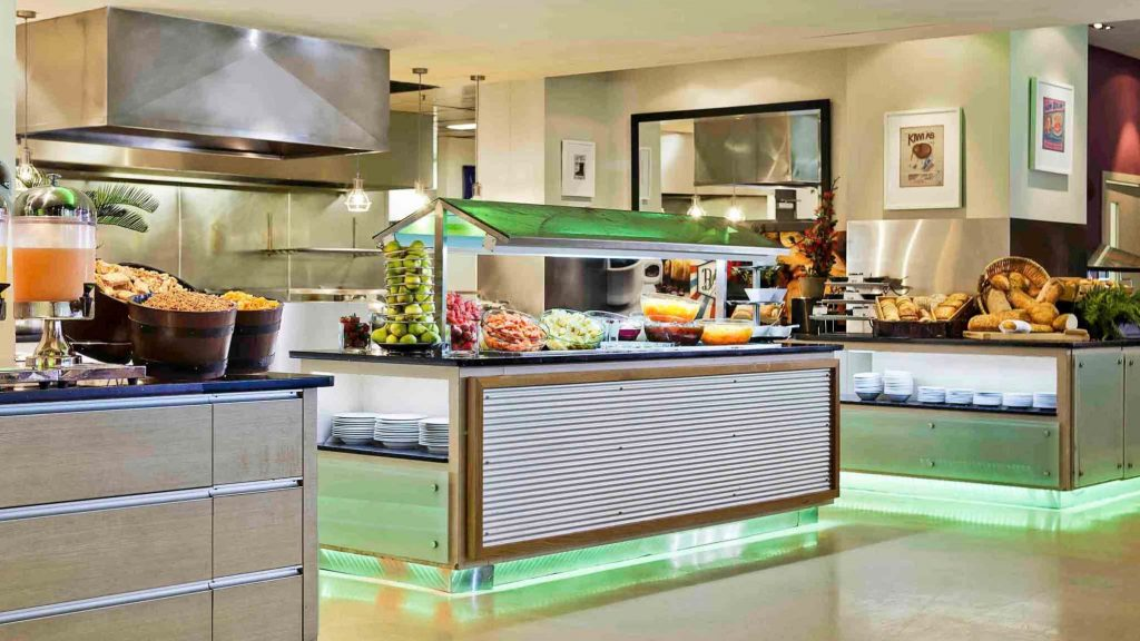 Novotel Auckland Ellerslie Hotel buffet