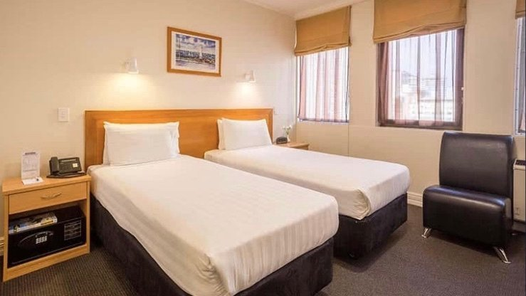 President Hotel Auckland twin single room