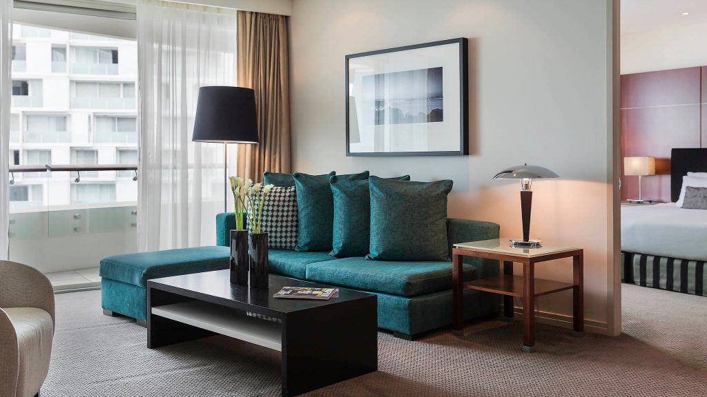 Suite at The 5 star Pullman Hotel Auckland