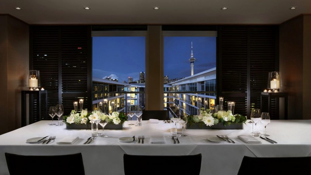 Retreat Banquet Venue Sofitel Auckland Viaduct Harbour