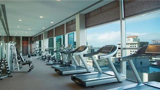 5 star Stamford Plaza Hotel Gym Auckland Views