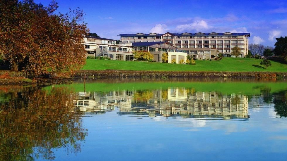 Waipuna Hotel & business conference centre across the Panmure Lagoon