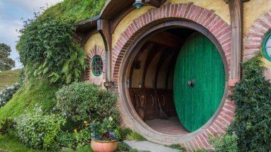 Hobbit house at Hobbiton