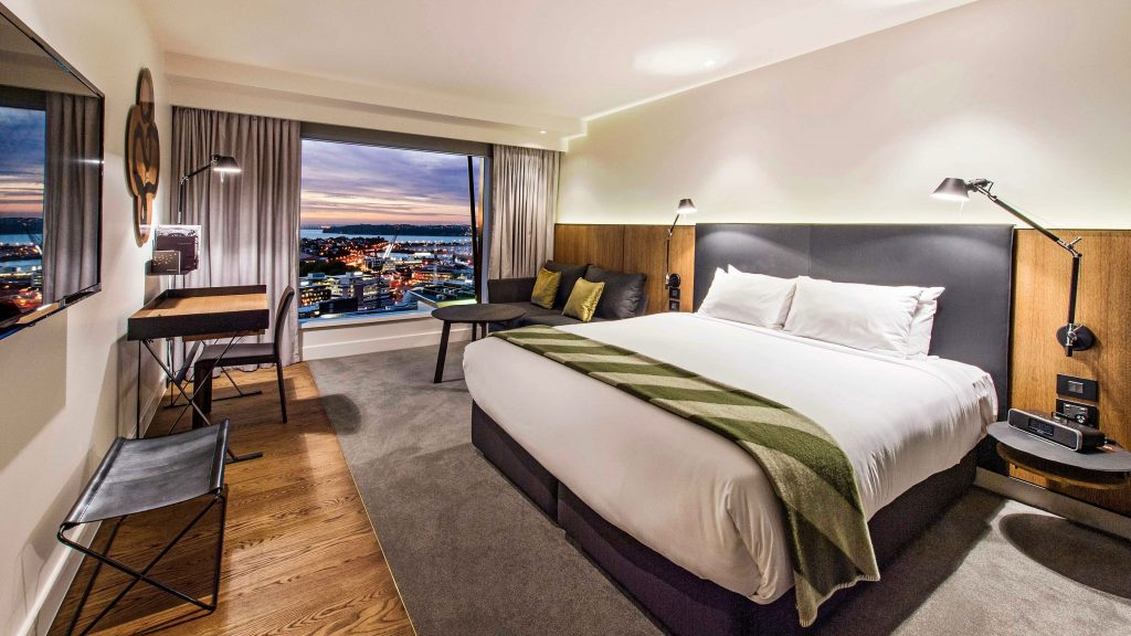 Skycity Grand Hotel Auckland 5 star suite in Auckland CBD