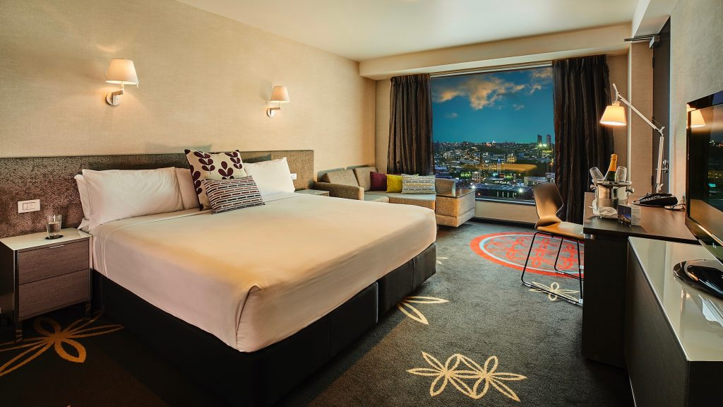 Skycity Hotel Premium King Room 4 Star Hotel Auckland