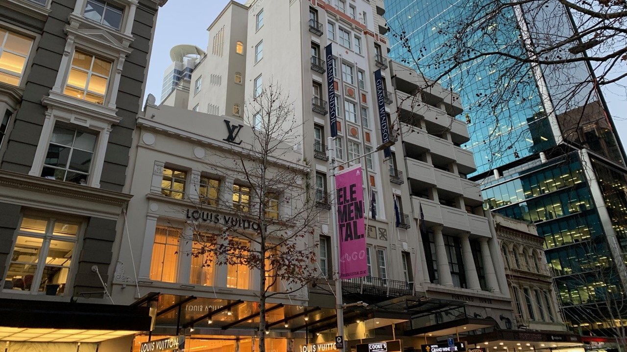 5 star Grand Windsor Boutique Hotel on Queen Street in Auckland CBD