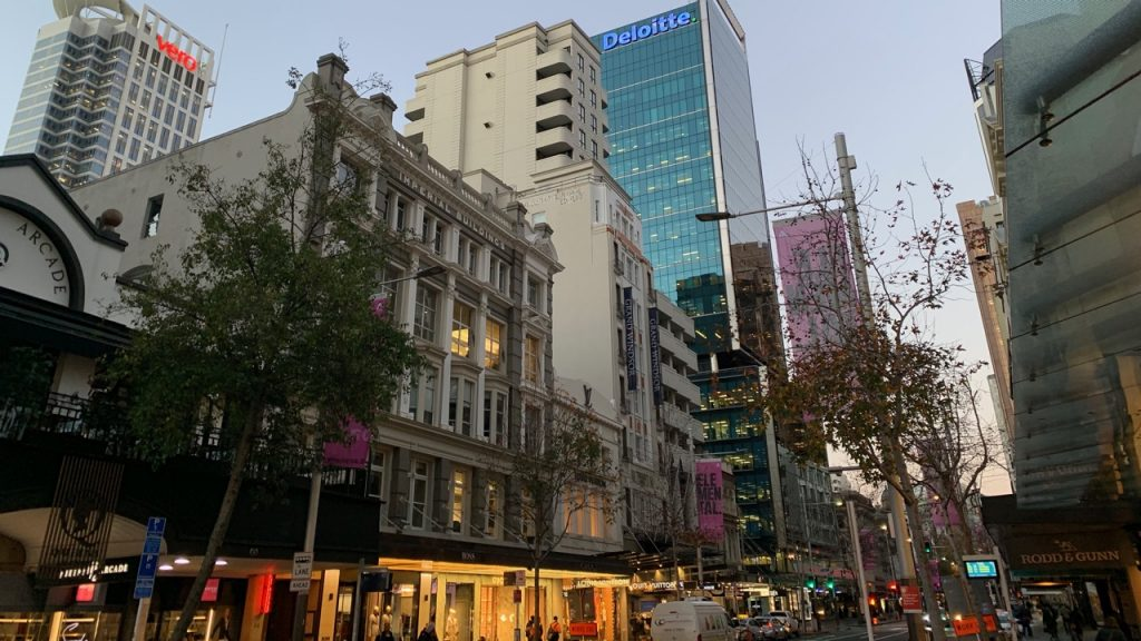 5 star boutique hotel Grand Windsor on Queen Street in Auckland CBD