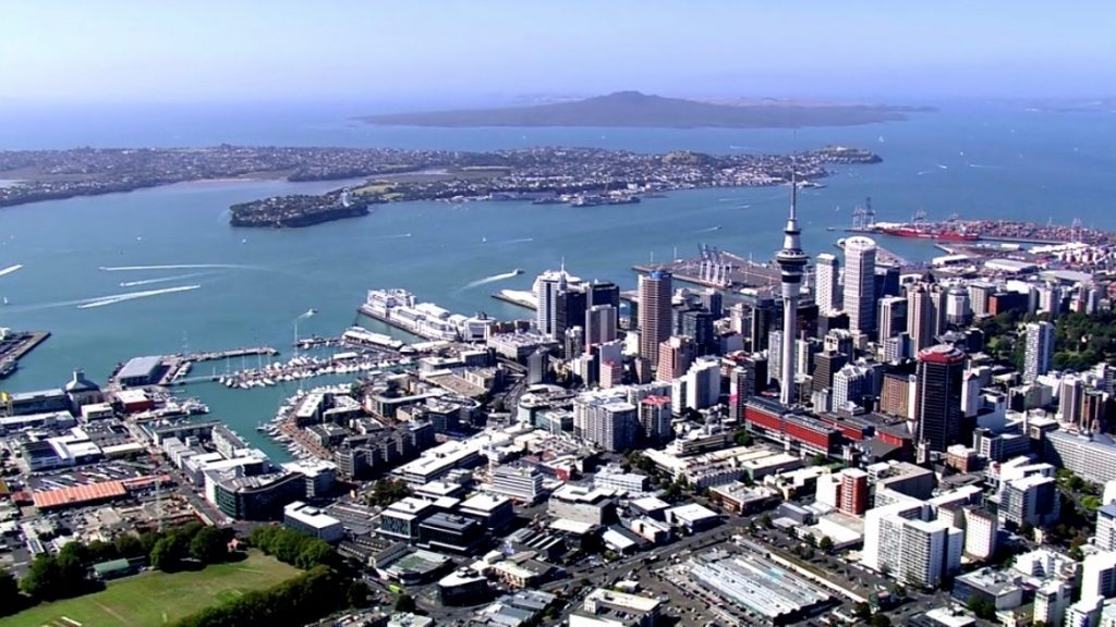 Auckland City CBD and Viaduct Harbour