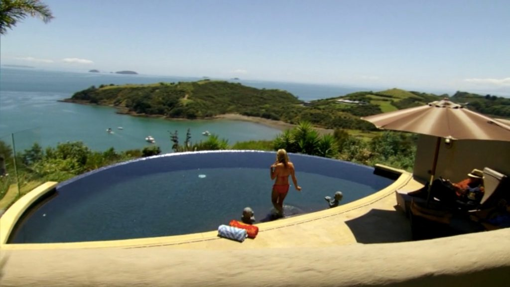 Pool at Delamore Lodge Waiheke Island