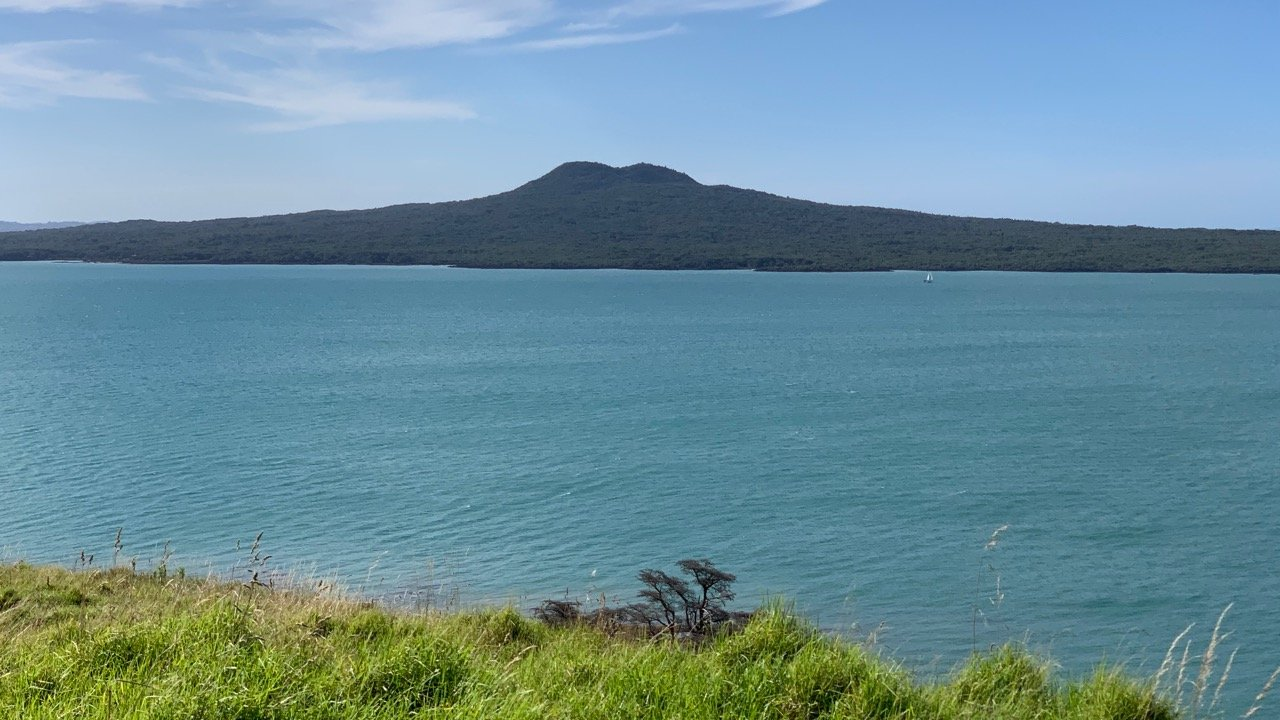 Rangitoto as seen from Browns Island