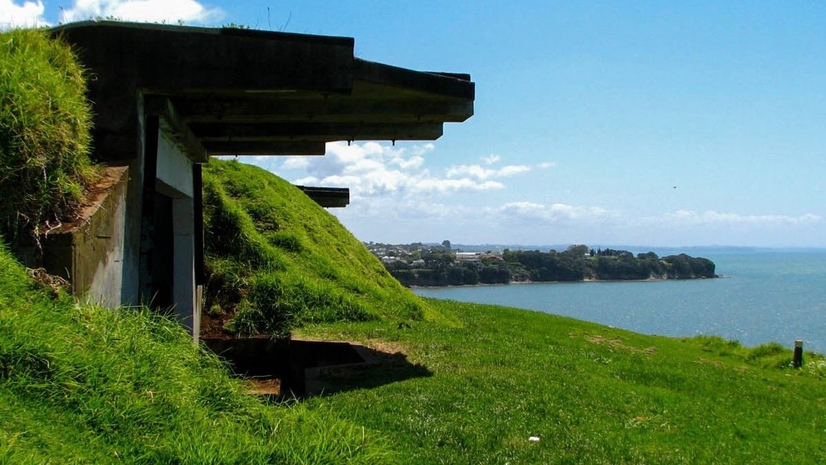 Historic Gun Emplacement at North Head Auckland
