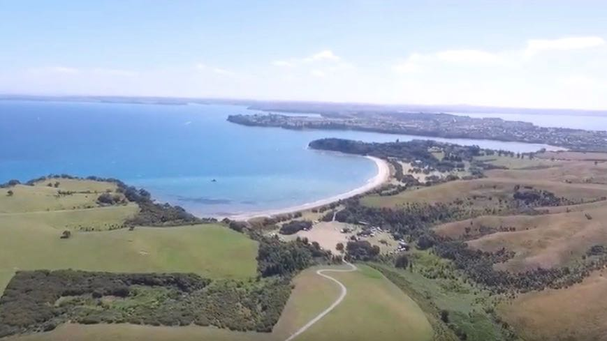 Shakespear beach is one of the best beaches in Auckland