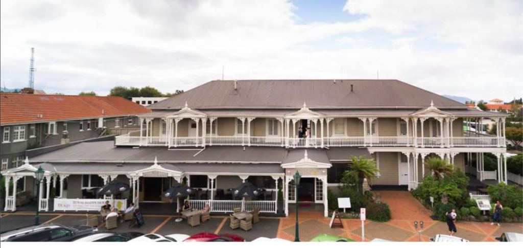 Princes Gate Historic Boutique Hotel in Rotorua