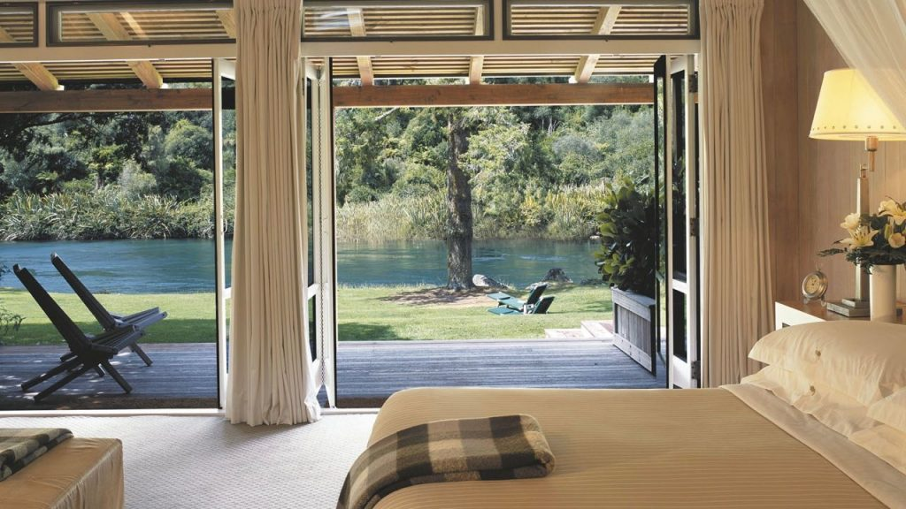 Huka Lodge Romantic Accommodation