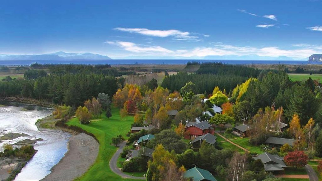 Tongariro Lodge trout fishing lodge taupo