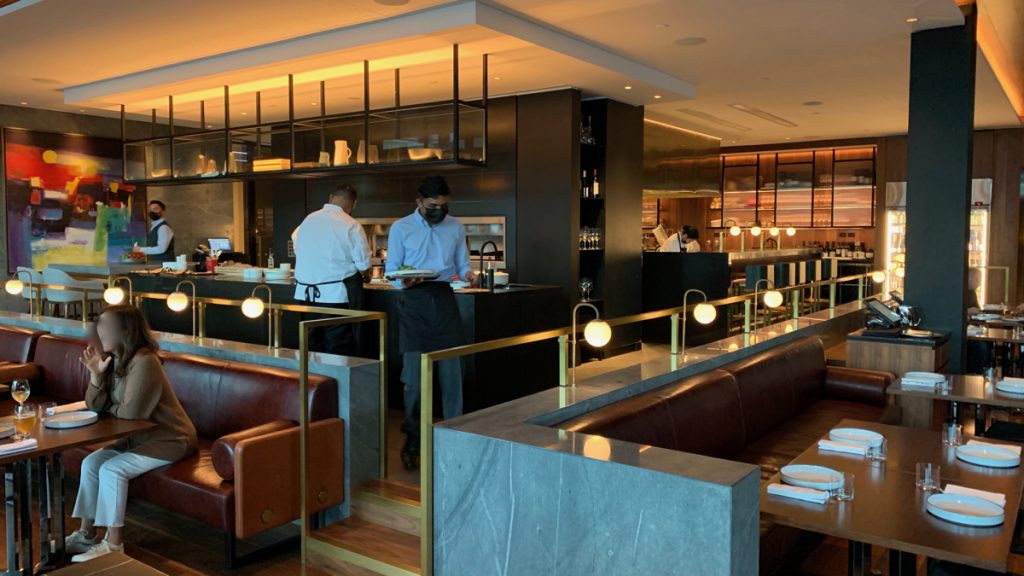 Onemata Restaurant at Park Hyatt Hotel