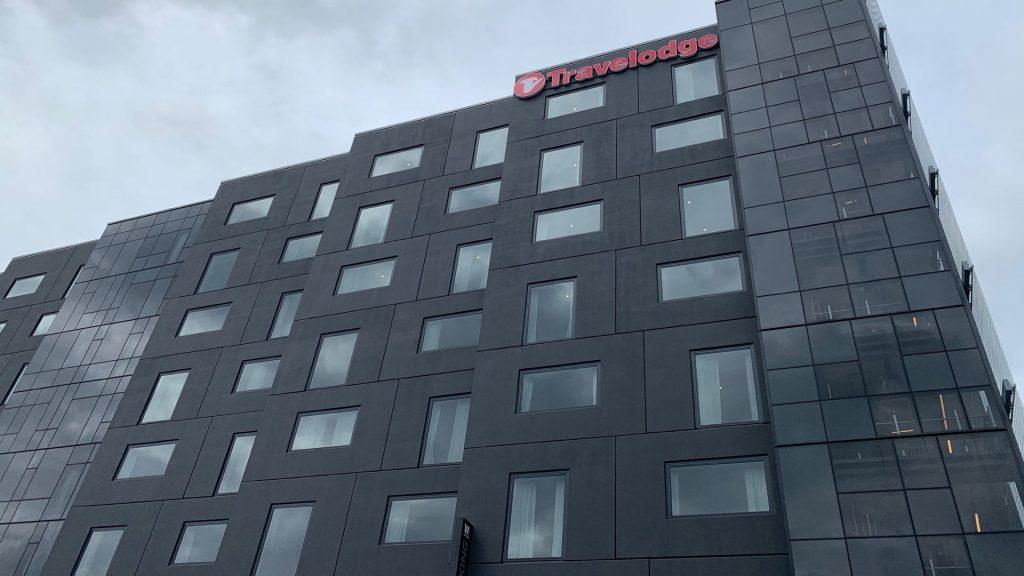 TRavelodge 4 star hotel in Auckland's Wynyard Quarter