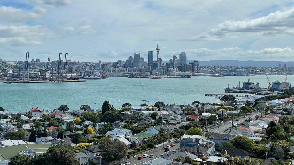 Auckland CBD from Mt Victoria