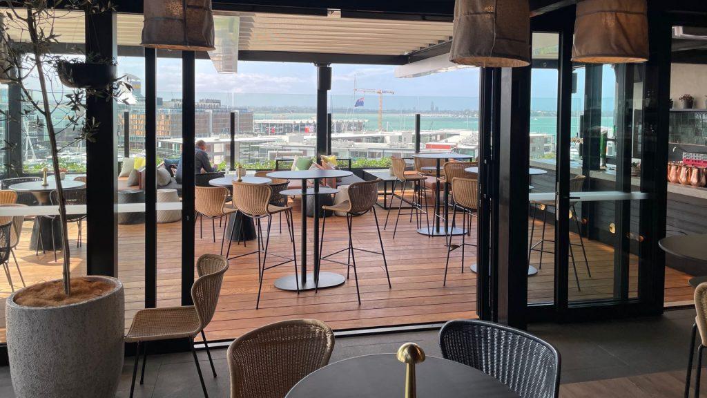 QT Auckland Hotel Rooftop Bar
