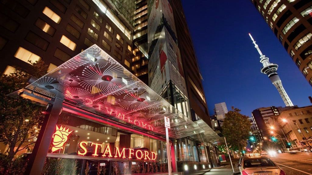 Stamford Plaza Auckland at Night